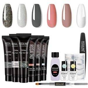 ROSALIND Gel Nail Enhancement Manicure Kit