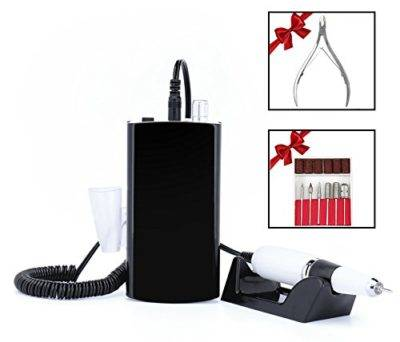 Cordless & Rechargeable Nail Drill Machine Set