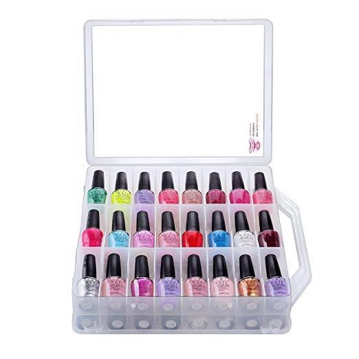nail polish organizer case