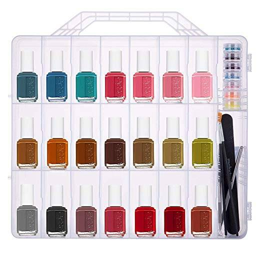 Portable Nail Polish Storage