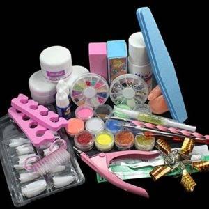 cheap acrylic nail kit