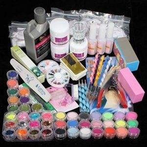 Acrylic Powder Nail Art Tips Starter Kit