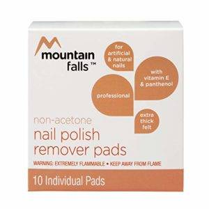 Mountain Falls Non-Acetone Nail Polish Remover Pads