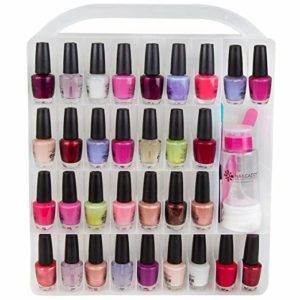 nail polish storage container
