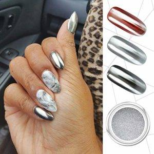 PrettyDiva Silver Chrome Pure Powder