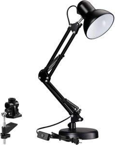 TORCHSTAR Metal Swing Desk Lamp
