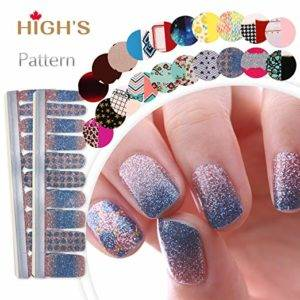 HIGH'S nail art strips