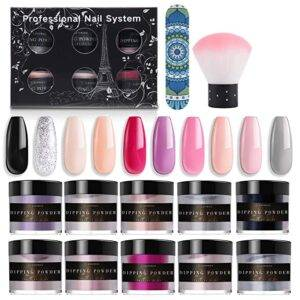 Latorice nail set with 10 color